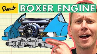 BOXER ENGINE   How it Works