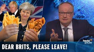 "Brexit: Dear Brits, please LEAVE ALREADY! German news satire ""heute show"" (English subtitles)"