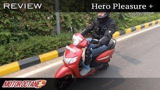 Hero Pleasure Plus Review - Upgrade time? | Hindi | MotorOctane
