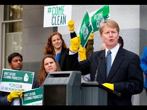 Come Clean Rally in Sacramento, CA
