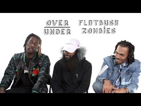 The Flatbush Zombies Rate OJ Simpson, Matt Damon and Macklemore | Over/Under