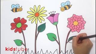 101+ Gambar Bunga Untuk Anak Sd Terlihat Keren