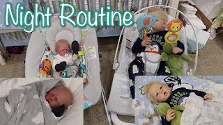 Reborn Max & Willie's Night Time Routine! Reborn Toddler and Preemie Roleplay! | Kelli Maple