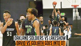 Oakland Soldiers vs Lakeshow | OT Game Was INTENSE TILL THE END Ft. J. Green, C. McMillian & More