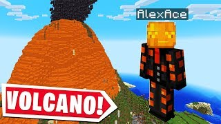 Minecraft EXCEPT IT HAS VOLCANOES..