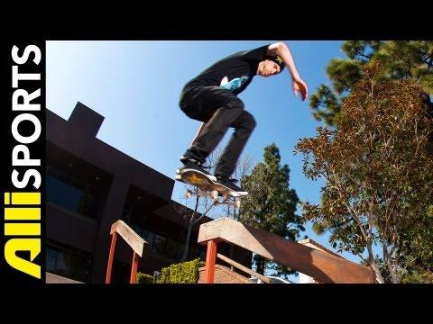 Baixar Greg Lutzka Skates Mini-Ramp + Hits the Streets, Alli Sports Skateboard Day With