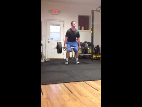Sam Rosenburg dead lift