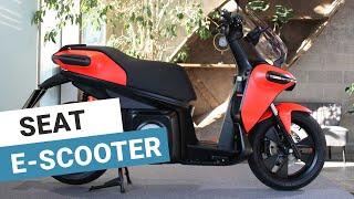 Scooter électrique : présentation vidéo du Seat e-Scooter