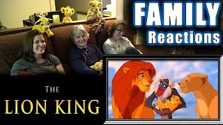 The Lion King | FAMILY Reactions | Fair Use