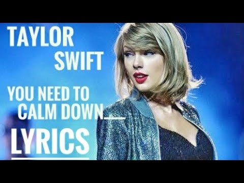 #TaylorSwift #YouNeedToCalmDown #lyrics  You Need To Calm Down - Taylor Swift  / Lyrics video song