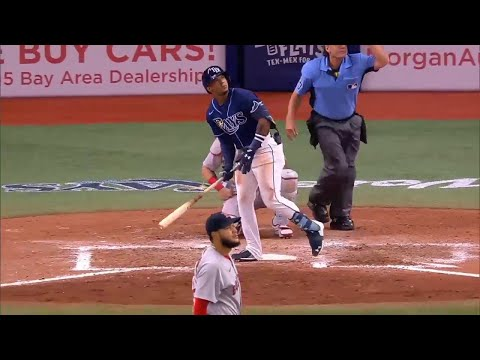 Wander Franco's First Career MLB Home Run   Rays vs. Red Sox (June 22, 2021)