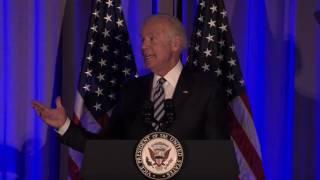 VP Joe Biden delivers heartfelt speech on stuttering at AIS Gala