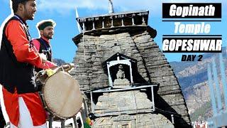 DAY 2 IN GOPESHWAR || GOPINATH TEMPLE || DEHRADUN VLOGGERS || KAPIL-MUSKAN