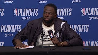 Draymond Green Postgame Interview - Game 6 | Warriors vs Rockets | 2019 NBA Playoffs