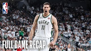 RAPTORS vs BUCKS | Brook Lopez Sparks Milwaukee With Playoff Career-High 29 Points | Game 1