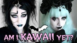 Goth to Pastel Goth Transformation! | Black Friday