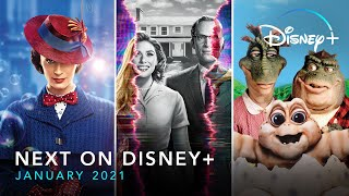 Next On Disney+ - January 2021   Disney+   Now Streaming