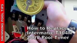 How do you install Intermatic replacement parts?