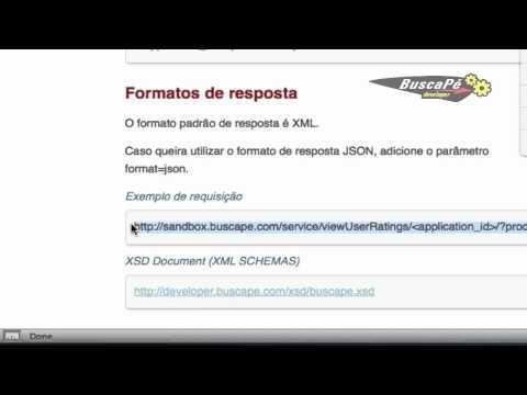 Como obter a avaliação dos usuários sobre um determinado produto usando a API do BuscaPe