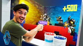 NERF IRL Arcade Challenge!
