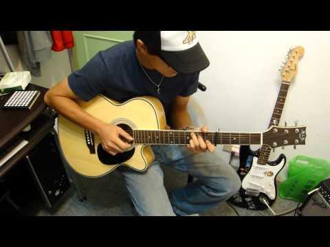 謝和弦 柳樹下 吉他自彈自唱 吉他譜  BY朱弟.MP4