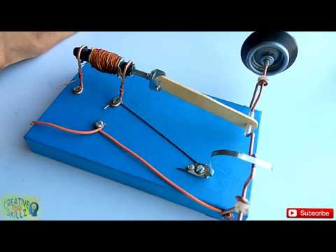 Solenoid engine 8 for Homopolar motor science project