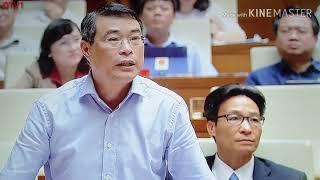 Thống đốc ngân hàng Lê Minh Hưng trả lời chất vấn tiền tệ QH 6/6/2019