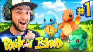 THE RETURN TO PIXELMON - NEW ADVENTURE! - Pixelmon Island #1 w/ Ali-A