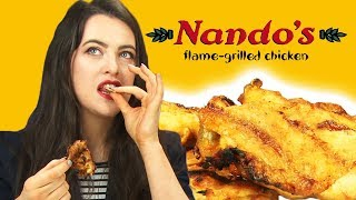 Irish People Taste Test Nandos
