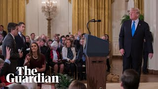 Trump's chaotic post-midterms press conference