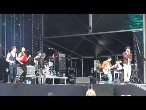 Alain Clark - Foxy Lady (Live op Zand Almere 2011)