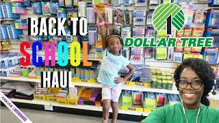 DOLLAR TREE BACK TO SCHOOL HAUL 2018!🏫✏️🎒