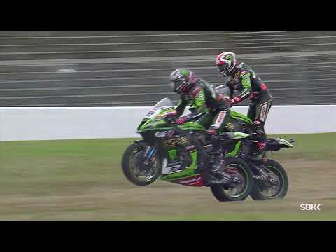 KRT double wheelie at Magny-Cours