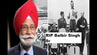 Hockey legend Balbir Singh Sr passes away at 95..