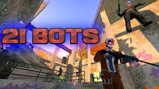 PAYDAY 2 - 21 Bots (Big Lobby Mod)