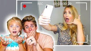Hidden Camera Catches Savannah Making These Secret Tik Toks...
