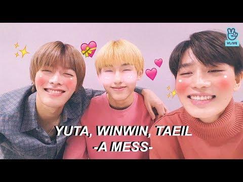 yuta, winwin, taeil - a mess