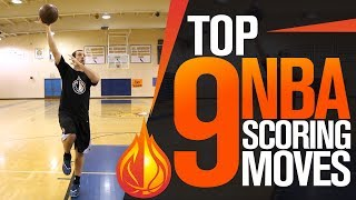 The 9 BEST NBA Scoring Moves with Coach Drew Hanlen
