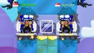 Growtopia Bloopers    Making Blue Crystal Wings!