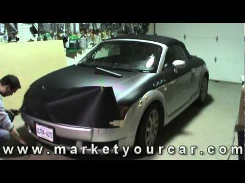 Audi TT Carbon Fiber Wrap by Market Your Car Inc.mpg