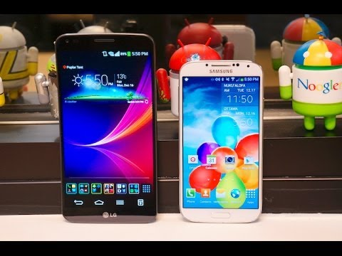 LG G-Flex vs Samsung Galaxy S4