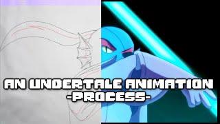 Undertale Animation Process (Using FlipaClip, Medibang Paint, and Sony Movie Studio 12)