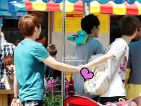 EXO M Luhan & Xiumin(Xiuhan) Be Mine