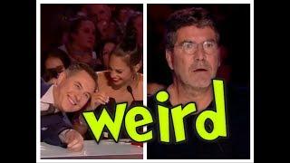 Britain's Got Talent 2017 - Top 10 Weird  Acts