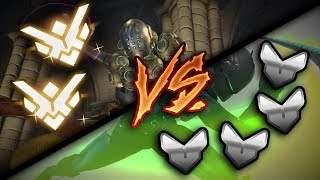2 Grandmasters VS 4 Silvers - Who Do You Think Will Win? - Overwatch