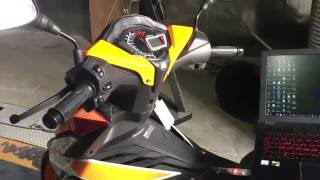 Honda Rs150R Setting Sprocket MOD Specs 65mm Part #1 - Xemika