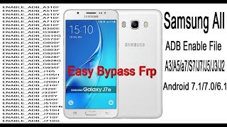 Samsung FRP Setvice Tool3   bypass any Samsung   android 7 0