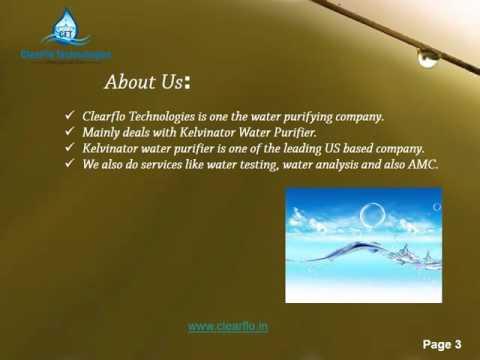 Kelvinator Water Purifier Dealer In Chennai