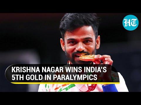 Paralympics: Krishna Nagar wins gold in badminton; President Kovind, PM Modi congratulate