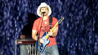 Brad Paisley - Water  2010 Country Music Festival Gillette Stadium MA